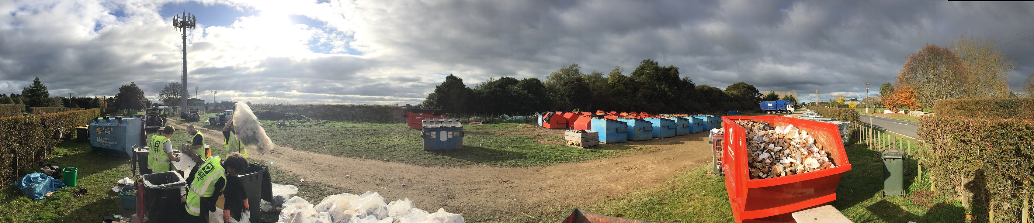 Fieldays 2016 event waste management